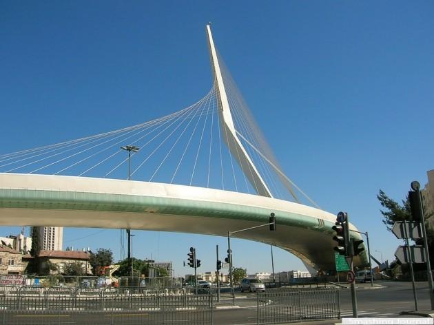 Bridge of Strings - Jerusalém, Israel