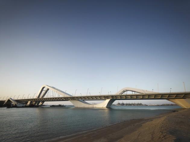 Sheikh Zayed Bridge - Abu Dhabi, Emirados Árabes Unidos