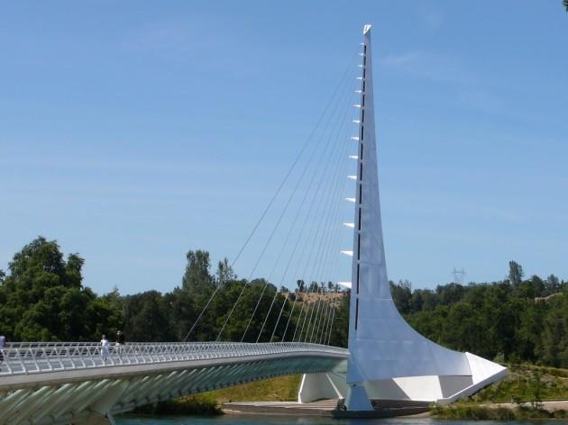 Sundial Bridge - Redding, Califórnia
