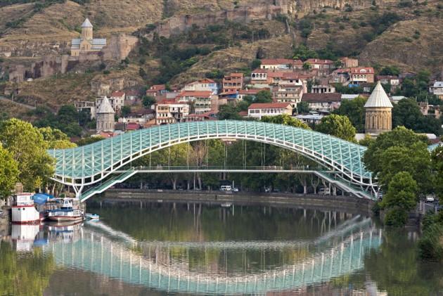 BridgeI Bridge - Tbilisi, Geórgia