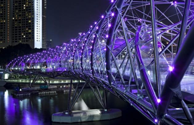 The Helix Bridge - Singapura, Singapura
