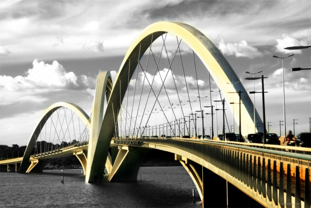 Ponte Juscelino Kubitschek - Brasília, Brasil
