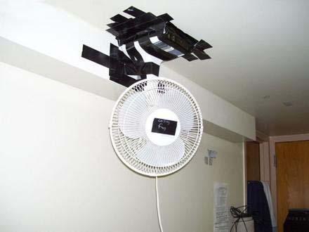 É sempre melhor ventilador de teto né?