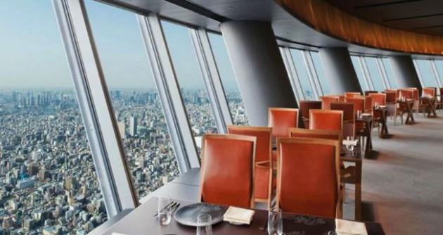 Sky Restaurant 634 (Tóquio, Japão)