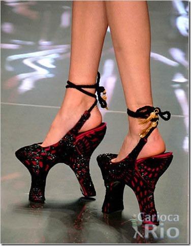 sapatos femininos criativos e diferentes 1