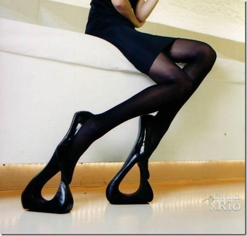 sapatos femininos criativos e diferentes 3