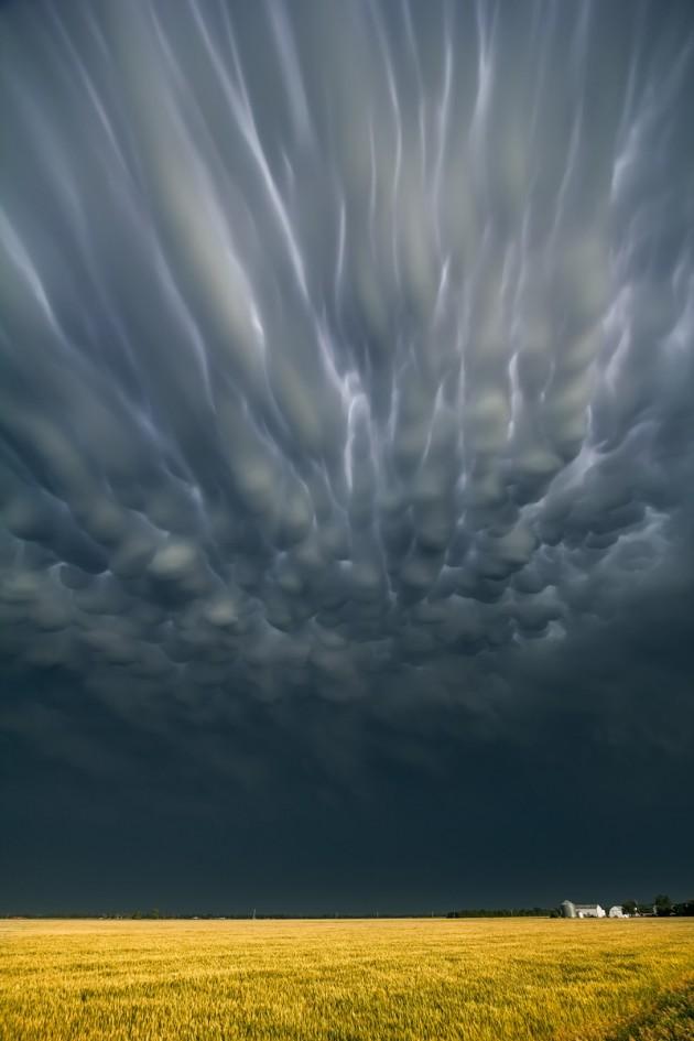 Mammatus Clouds