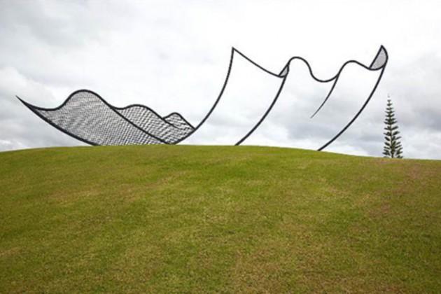 Neil Dawson - Uma linda escultura na Nova Zelandia