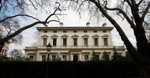 5) Kensington Palace Gardens en Londres, Inglaterra;  propiedad del empresario indio Lakshmi Mittal.  Valorado en US $ 222 millones en 2008