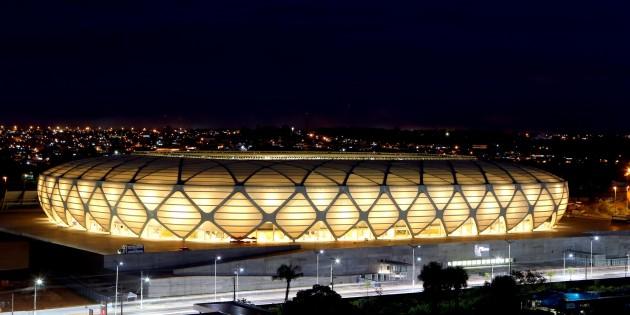 Arena Amazônia é preparada para evento-teste