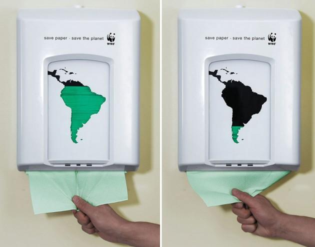 Economize Papel, Salve o planeta!