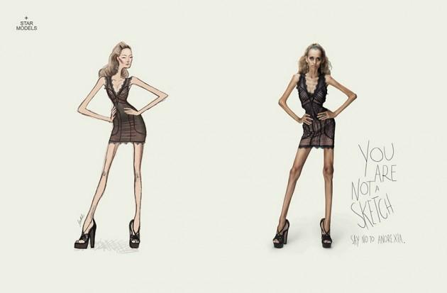 Você Não é um Sketch - Diga não a Anorexia