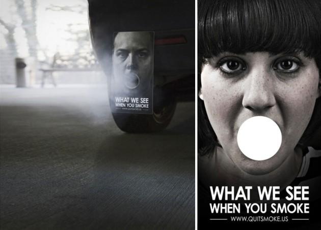 O Que vemos quando você fuma!