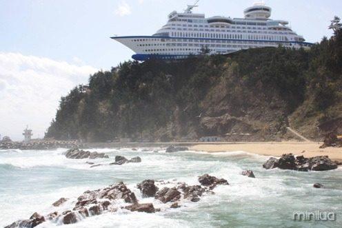 #12 - Esse Navio na verdade é um Hotel na Coreia do Sul
