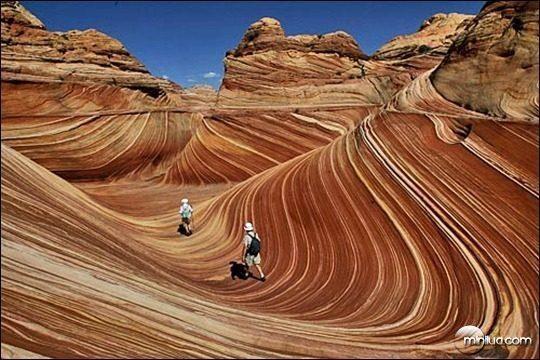 #3 - Formação rochosa de arenito, no Arizona