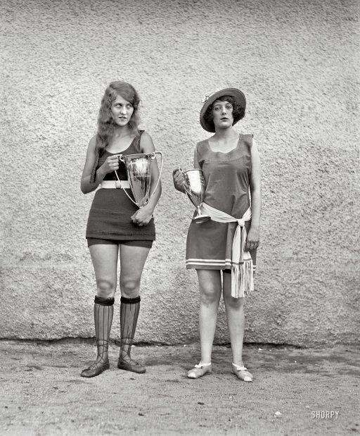 Vencedoras do concurso de beleza em 1922