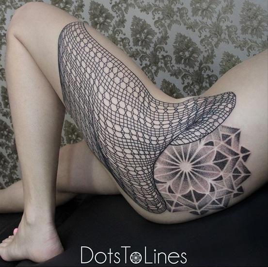 Incríveis-Tatuagens-em-linhas-por-Dotstolines-