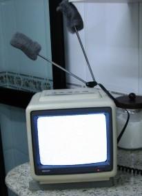 #7 - Colocar Bom Bril na antena da TV