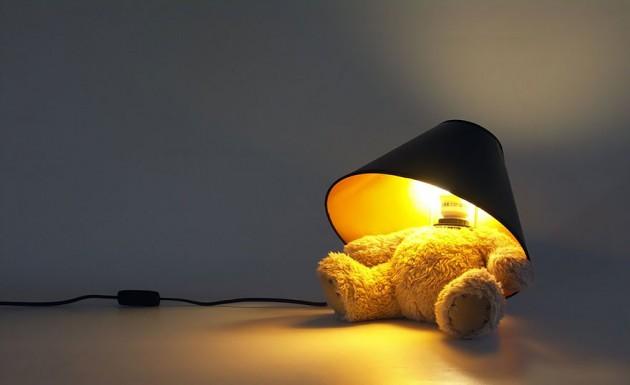 Abajur do Ursinho Ted