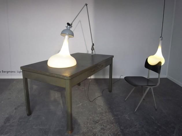 Luminária de Pingos
