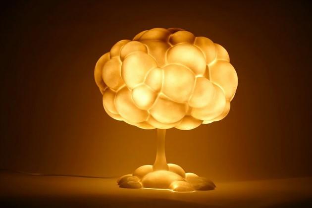 Luminária de Cogumelo