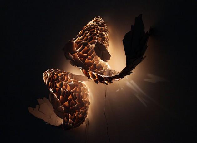 Luminária de Peixe