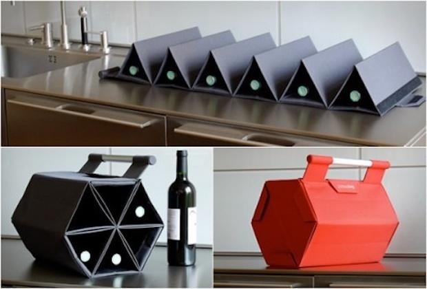 Bolsa pra você carregar e presentear seus vinhos