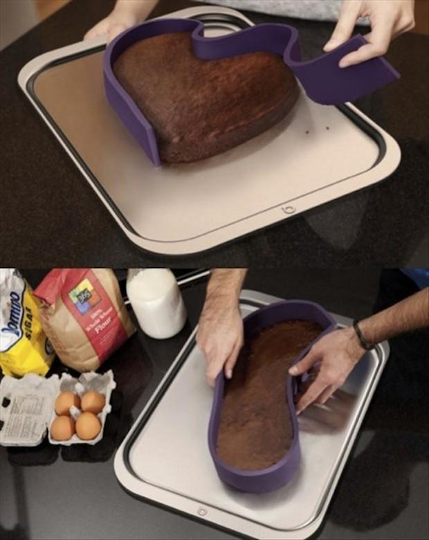 Forma para modelar seus bolos