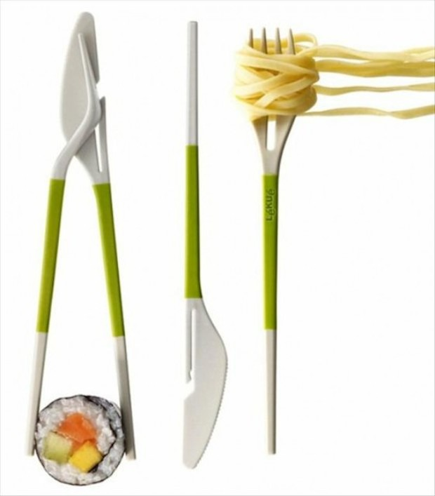 Sushi ou Macarrão ? Hashi ou Talher ?
