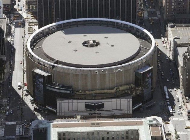 Aerial view of Madison Square Garden, 01