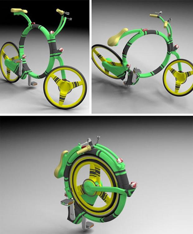 Bicicleta Retratil ( e Portatil )