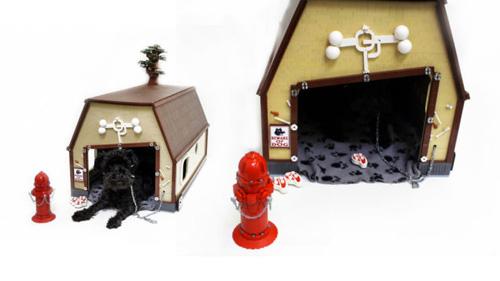 3) Casa para Pets – Tem algumas peças de lego sobrando em casa? Então tente fazer uma criativa casa para seu animal de estimação.
