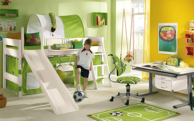 Children-Creative-Bedrooms-With-Football-Themes-Home-Kulo