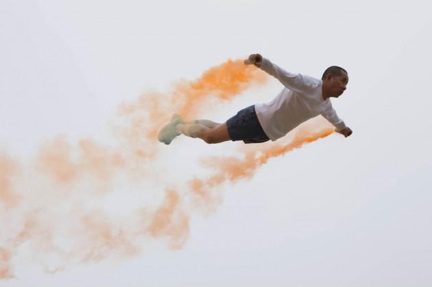 Li-Wei-flying-weird-art