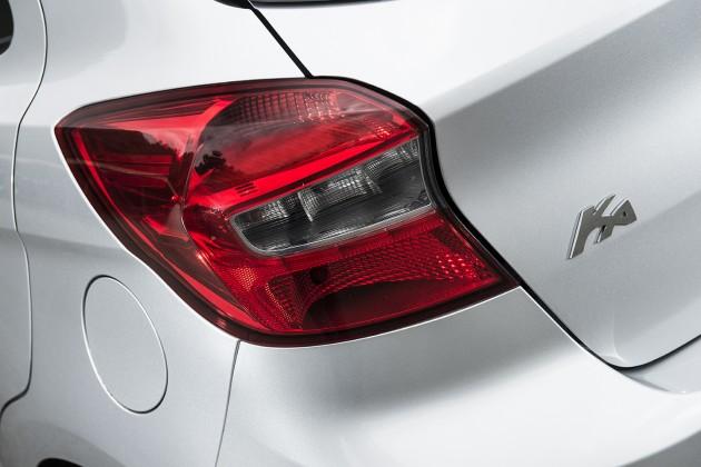 Lanterna Traseira do Novo Ford Ka