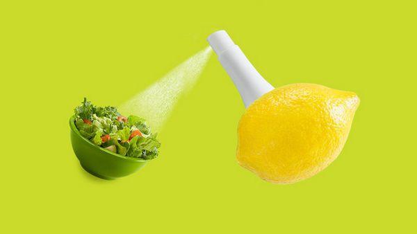 #8 Spray de sabor direto da fruta, muito criativo!