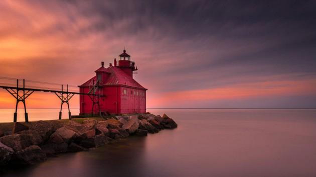 #16 - Baía Sturgeon, Wisconsin, EUA
