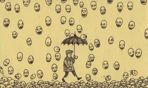 creepy-monsters-sticky-notes-drawings-don-kenn-11