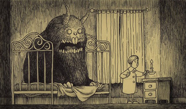 creepy-monsters-sticky-notes-drawings-don-kenn-13