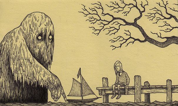 creepy-monsters-sticky-notes-drawings-don-kenn-22