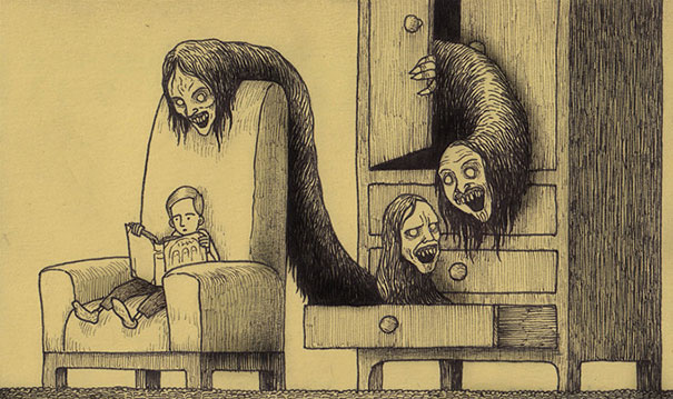 creepy-monsters-sticky-notes-drawings-don-kenn-26