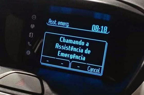 sistema de emergencia Ford ka