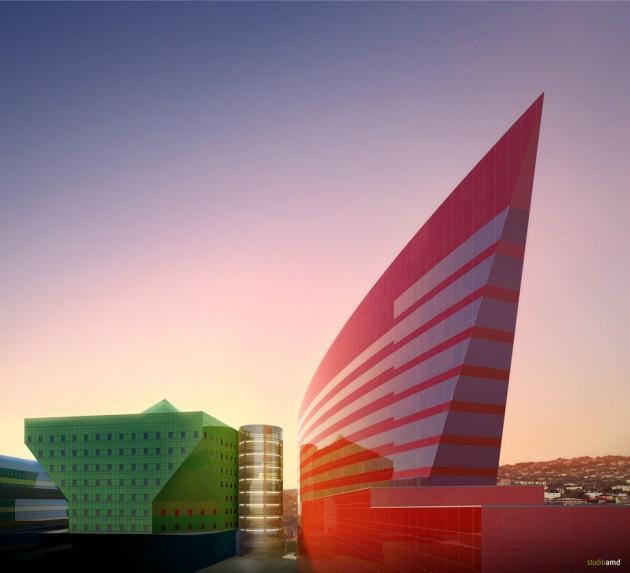 Pacific Design Center, Hollywood, Califórnia, EUA