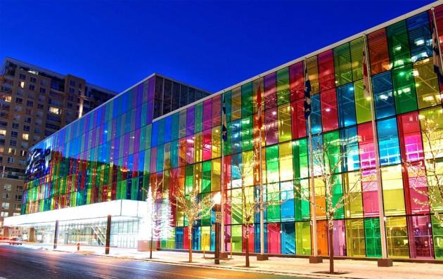 Palais des Congres (centro de eventos), Montreal, Canadá