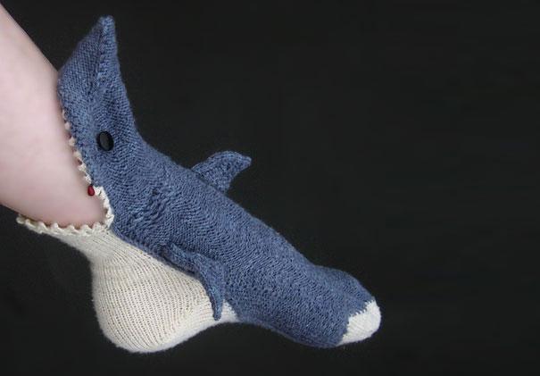 #1 - Meias de Tubarão