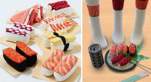#6 - Meias para os apaixonados por comida japonesa