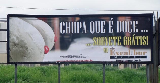 propaganda criativa de motel