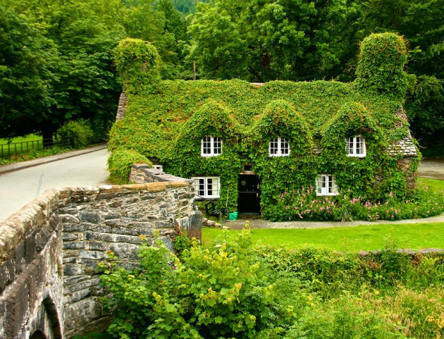 Casa de Chá no País de Gales