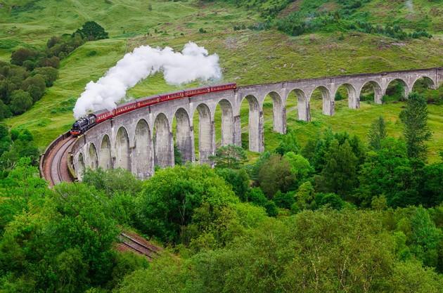Viaduto Glenfinnan, Escócia