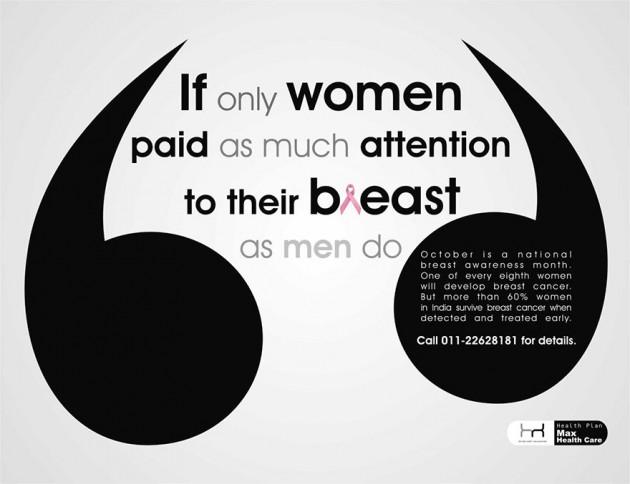 Se elas prestassem tanta atenção com seus seios, como os homens prestam....